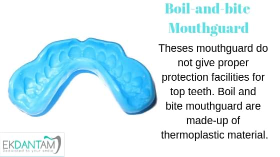 Boil-and-bite Mouthguard
